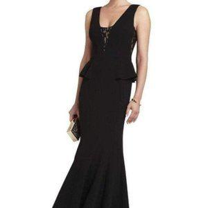 NWT BCBGMaxAzria Silvia Sleeveless Peplum Dress